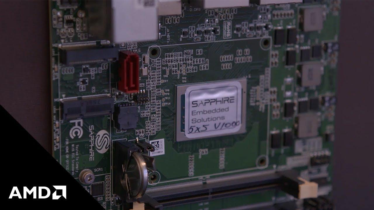 Signage-oriented Mini-STX SBC taps Ryzen V1000
