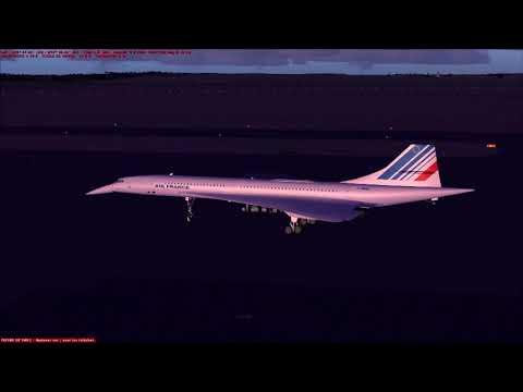 USA De Point Mugu Californie à Richmond Intl en Concorde