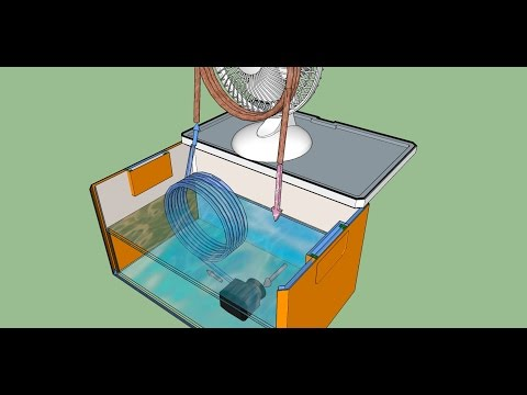 COOLER Homemade Air Conditioner - How to Make