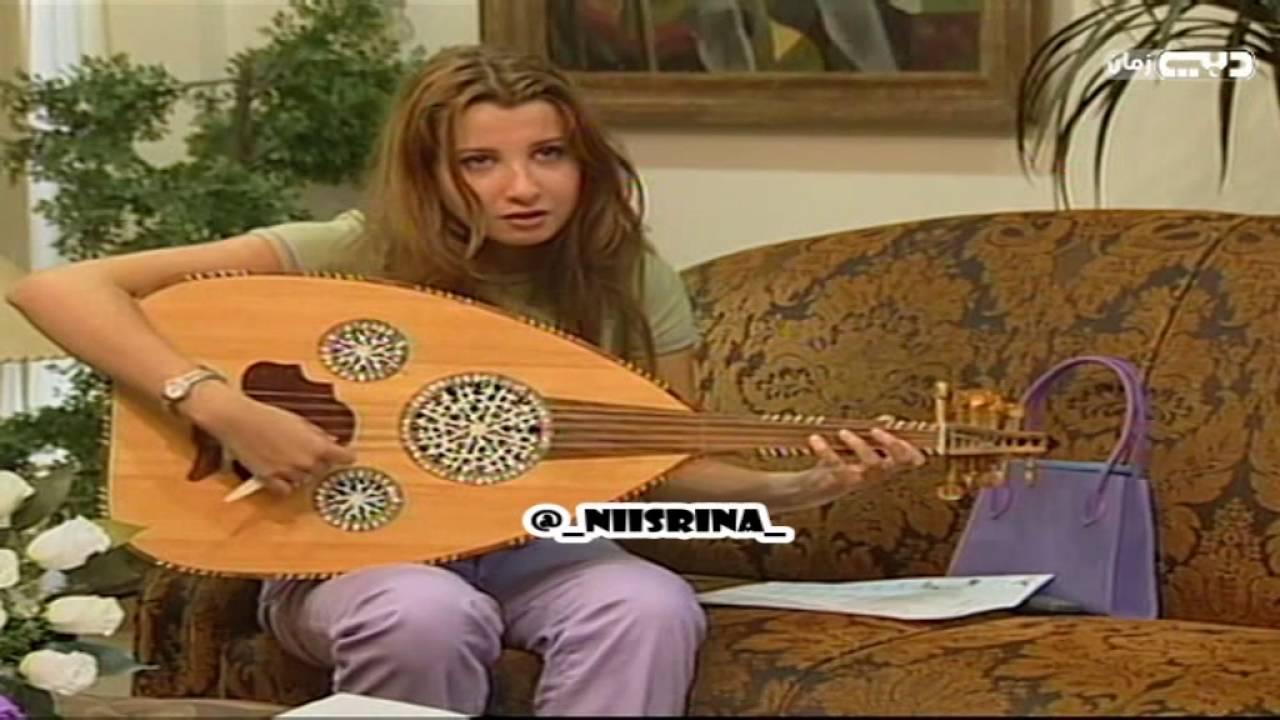 #نادر شاهد نانسي عجرم في اول ظهور وهي تعزف على العود ᴴᴰ
