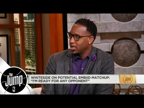 Tracy McGrady: Joel Embiid coming back 'will work into [Hassan] Whiteside's favor' | The Jump | ESPN