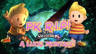 PK R.I.P! -A Super Smash bros 4 Lucas Montage!