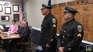 Pembroke Board of Selectmen - Police Promotions