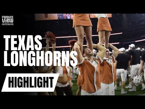 Texas Longhorns sing Texas fight song after winning the Texas Bowl