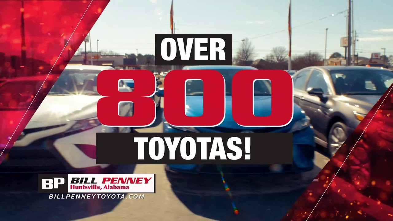 Bill Penney Toyota >> Rocket City Toyota Dealer Huntsville Al Bill Penney Toyota
