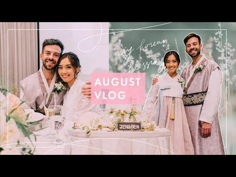 Our Korean Wedding Reception | August Vlog