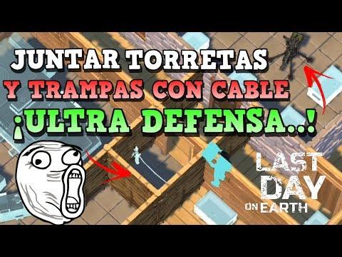 JUNTAR TORRETAS CON TRAMPAS CON CABLE...! | LAST DAY ON EARTH: SURVIVAL | [RidoMeyer]