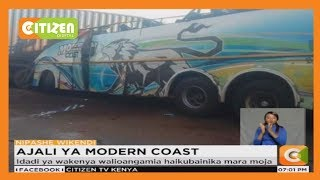 8 killed as a Kenyan bus collides with truck in Uganda