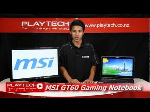 PlaytechTV - MSI GT60 Gaming Notebook Unboxing and Review