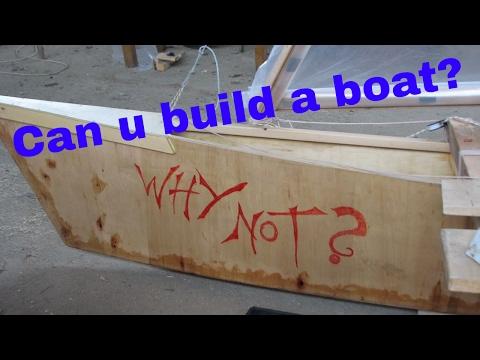 Pacific Proa building steps