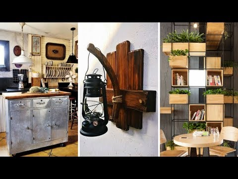🏡 5 DIY Rustic Home Decorating Ideas for New Homeowners 🏡