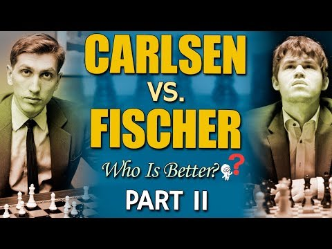 Carlsen vs Fischer: 😱 Who is better? [PART 2/4] by GM Damian Lemos