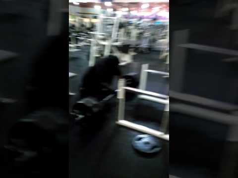 Tim Russ 600lb deadlift