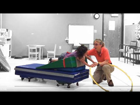 head-control-scooterboard-ride-prone:-exercises-for-a-child-with-cerebral-palsy-#016