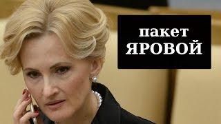 Дмитрий ПОТАПЕНКО - Пакет Яровой. Что нас всех ждёт?