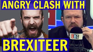 James O'Brien ANGRY Clash with BREXITEER Over The Economy - LBC