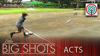 Little Big Shots Philippines: Will | 10-year-old Frisbee Trick Shot Performer
