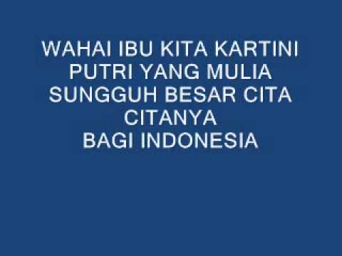 Dhyo Haw - Ibu Kita Kartini (LYRICS)