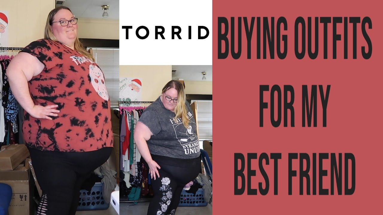 Buying Clothes For My Best Friend - Torrid Haul and Try On For Brittney - Plus Size Fashion