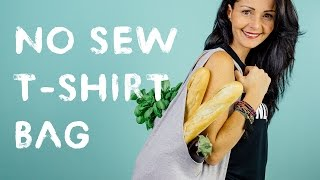 Cách làm túi xách thời trang từ áo thu cực sành điệu