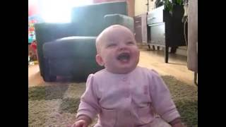 Babies laughing at dog eating popcorn compilation remix