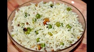 Matar Pulao in Pressure Cooker/Green Peas Pulao/Matar Pulav/Peas Pulao/Pressure Cooker Recipe