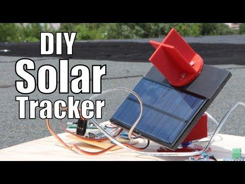 DIY Solar Tracker || How much solar energy can it save? - YouTube