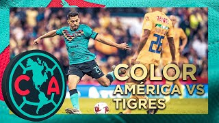 COLOR América 1-0 Tigres | Debut y victoria en el Azteca