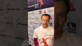 Аркадий Дворкович - VTB Arena Open 2017