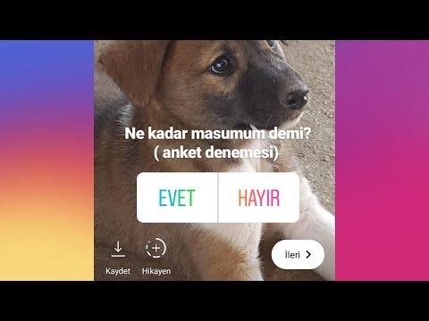 Instagram Hikayesine Anket Nasıl Eklenir ?