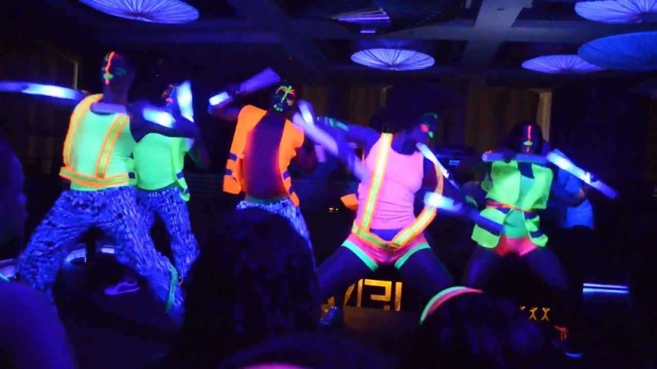Neon Glow Paint Party Ideas