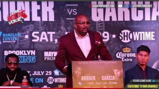 Adrien Broner vs  Mikey Garcia Full LA Press Conference