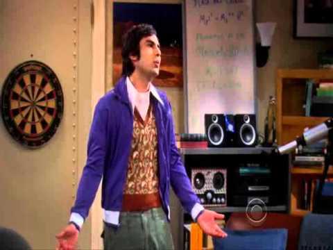 The Big Bang Theory S2E1 - Sheldon Cooper - ''I'm Moving Out''