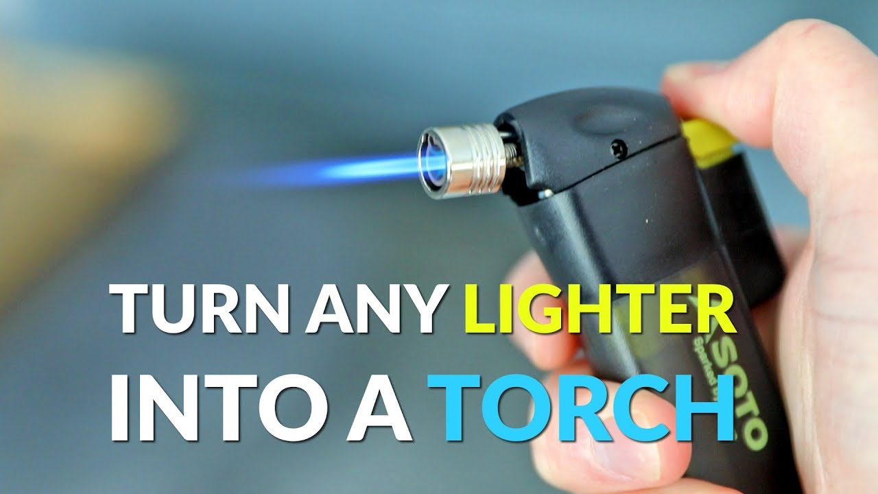 how to use a torch lighter