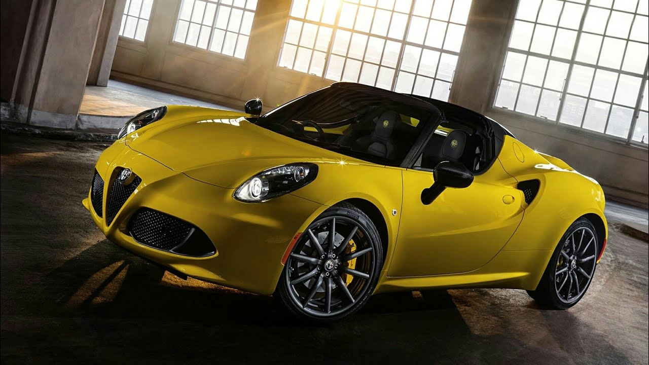 2019 Alfa Romeo 4c Release Date New Model