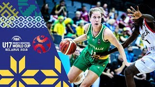 Angola v Australia - Full Game - FIBA U17 Women's Basketball World Cup 2018