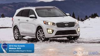 Best Midsize SUV: 2018 Kia Sorento - AutoWeb Buyer's Choice Award Winner