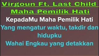 Virgoun - Maha Pemilik Hati (Karaoke + Lirik) Ft. Last Child