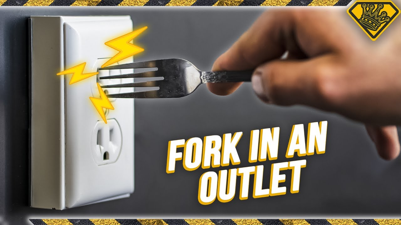 What Happens If You Stick A Fork In An Outlet Youtube
