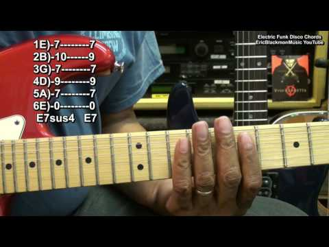 I Will Survive Style Electric Funk Guitar Chords And Strumming Lesson EricBlackmonMusic