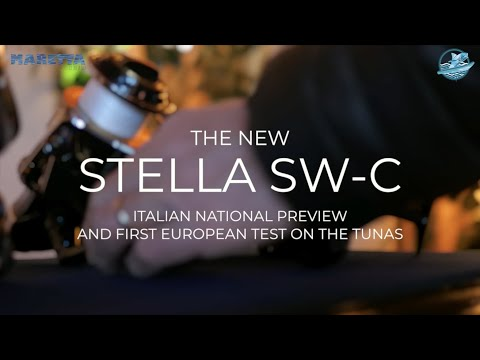 #Shimano Stella SW-C first European test on water with #Demo