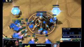 Protoss vs zerg // Stacraft Hots