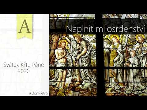 Homilie na Svátek Křtu Páně (A) - Veškeré milosrdenství