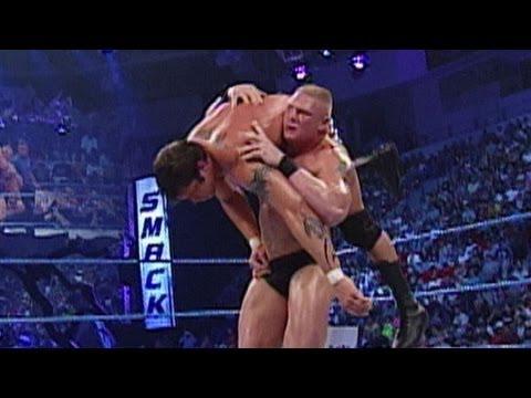 Brock Lesnar vs. Randy Orton: SmackDown, September 5, 2002