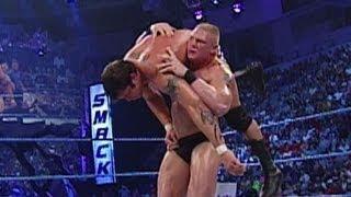 Brock Lesnar vs. Randy Orton SmackDown, September 5, 2002