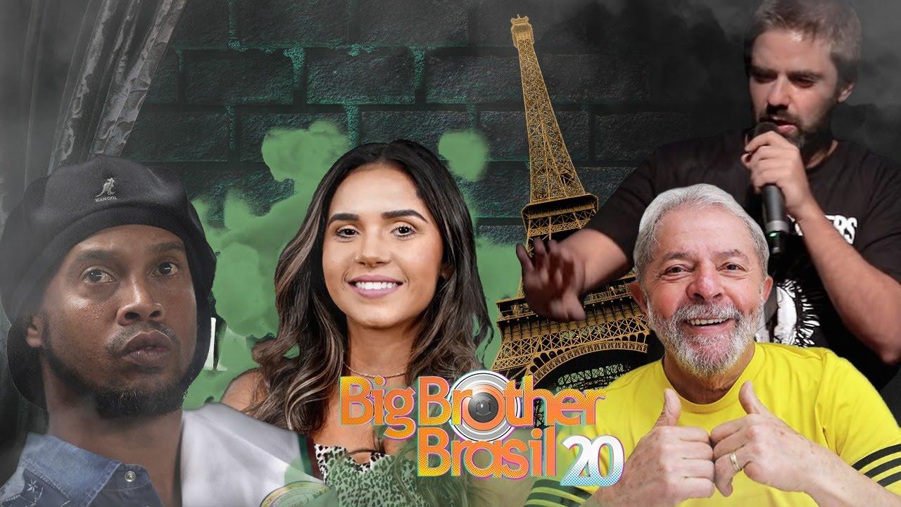 Fábio Rabin - Ronaldinho Gaúcho / BBB20 / Carioca de Bolsonaro / Lula em Paris