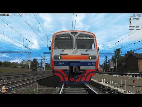 Trainz 2019 на электричке ЭД4МК-0078 до станции Борисполь
