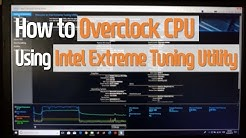 [Eng] How to overclock CPU: Intel Extreme Tuning Utility
