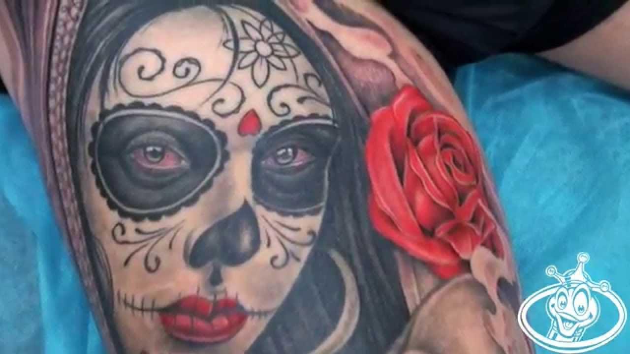Tatuajes De Catrinas Youtube