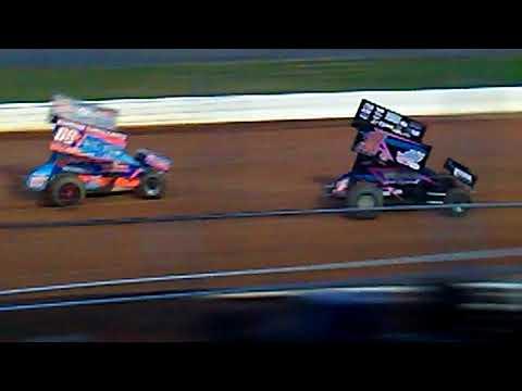 (THE LOUD PETAL) Logan Wagner Heat Race Port Royal Speedway 7/4/18